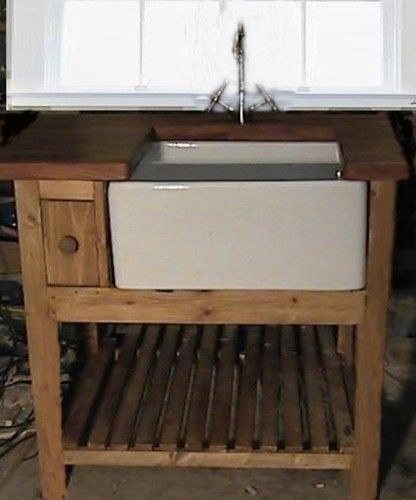 Shaker Style Belfast Sink Kitchen Unit 3 39 Wide Complete W
