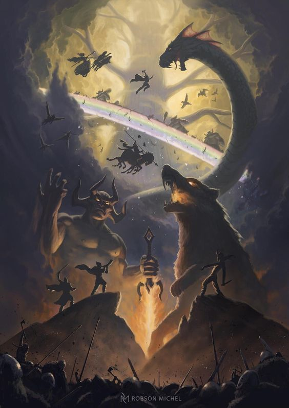 Robinson Michel's depiction of Ragnarok