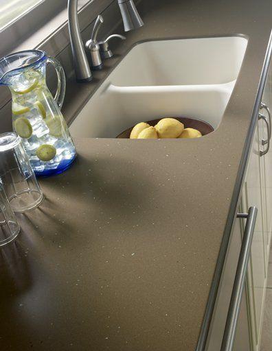 Countertop in Suede by Corian? Corian? Kitchens Pinterest ...