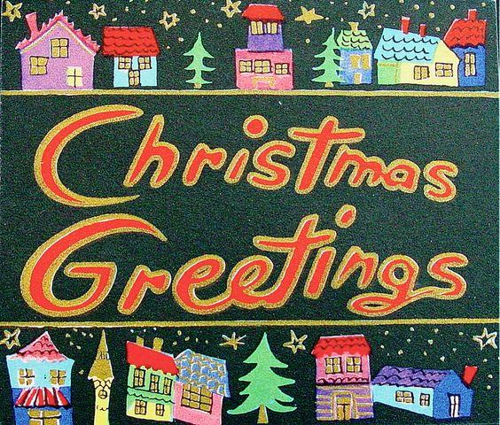 Cute Christmas town. | Crazy for Christmas 2 | Pinterest | Christmas