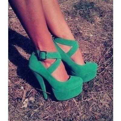 green shoes? i never thought i would find some that i love! haha.