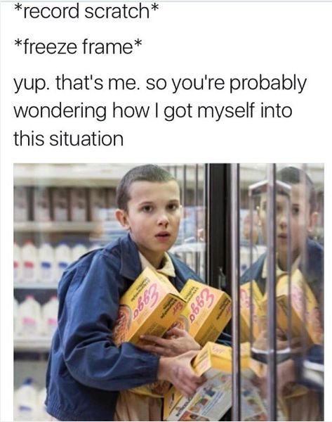"""This tweet about Eggos. 