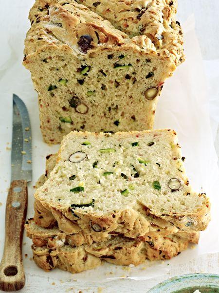 Würziges Zucchini-Brot