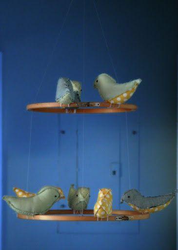 Bird Mobile DIY