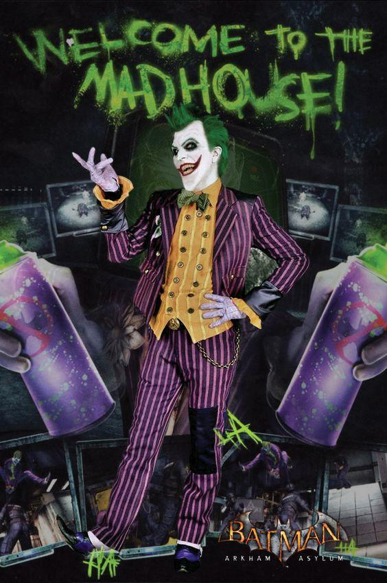 Joker Arkham Asylum Cosplay III by AlexWorks
