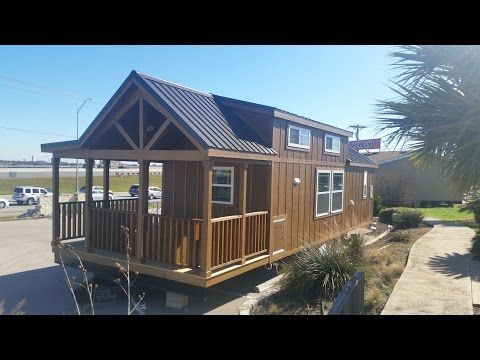2018 Log Cabin Park Model RV CBT39 3 Tiny House