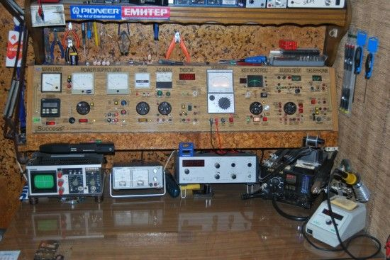 Electronic Test Benches : A ridiculous test bench control board electronics