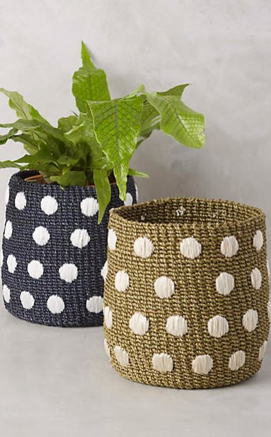 Dispersed Dots Basket #anthrofave