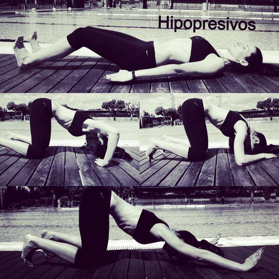 Hipopresivos posturas