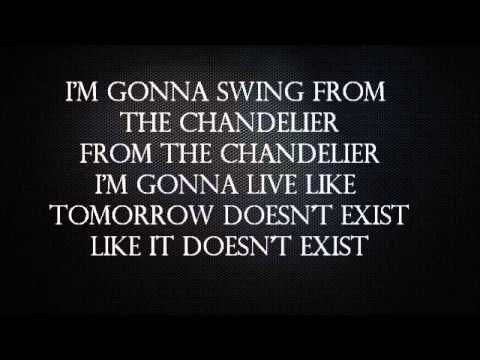 Sia chandelier lyrics lyrics pinterest aloadofball Images