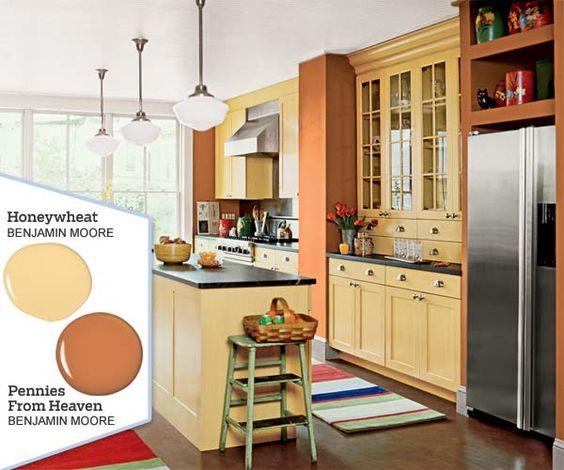 Kitchen Paint Palette: Five No-Fail Palettes For Colorful Kitchens