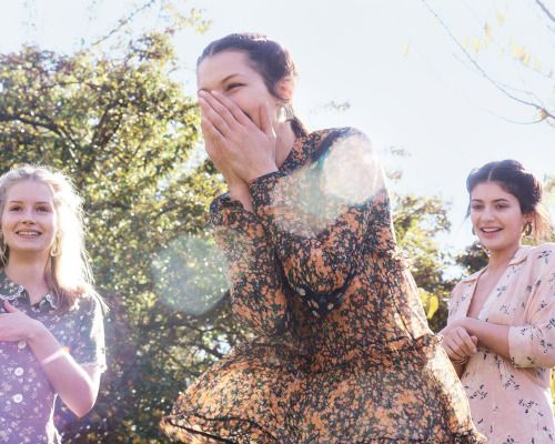 Kylie Jenner, Bella Hadid and Lottie Moss by Gordon von Steiner for Vogue US, January 2016