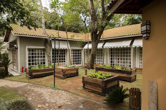 Área externa do 'É De Casa' (Foto: Globo/Tata Barreto)