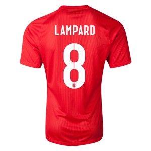 Lampard 2014 World Cup Home Soccer Jerseys England Football