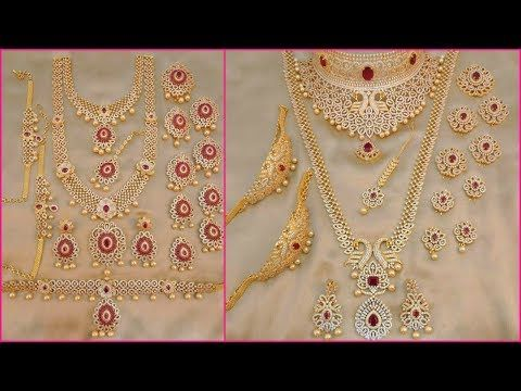 Youtube Gold Bridal Jewellery Sets Bridal Gold Jewellery Gold Jewelry Sets