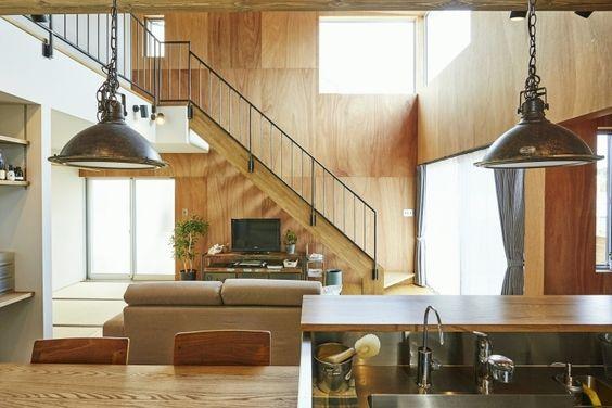 ビンテージ家具の似合う家 キッチン2|重量木骨の家 選ばれた工務店と建てる木造注文住宅