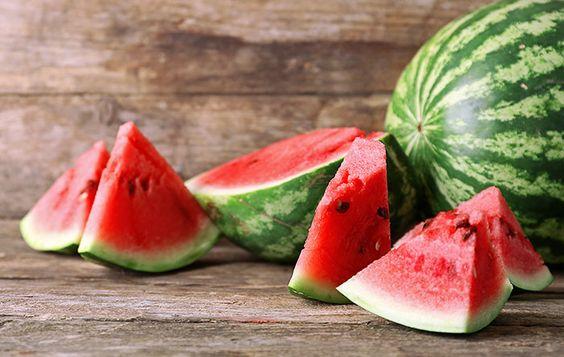 Cut up watermelon