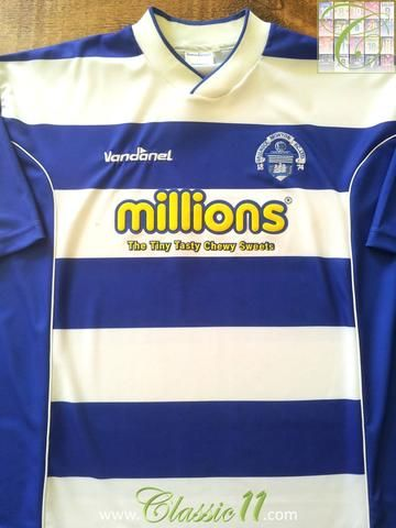 Relive Greenock Morton 2004/2005 season with this original Vandanel home football shirt.
