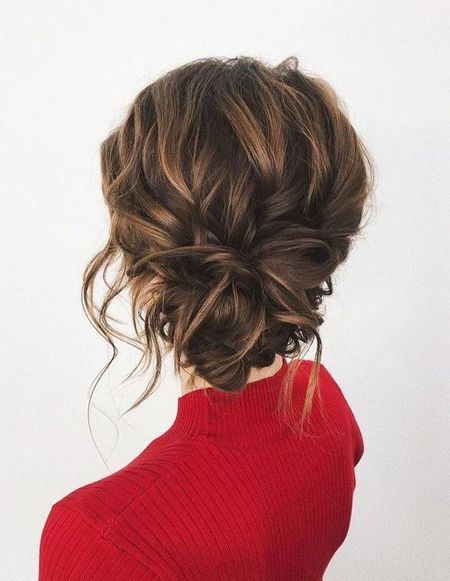 Curly Low Bun | Hairstyle on Point