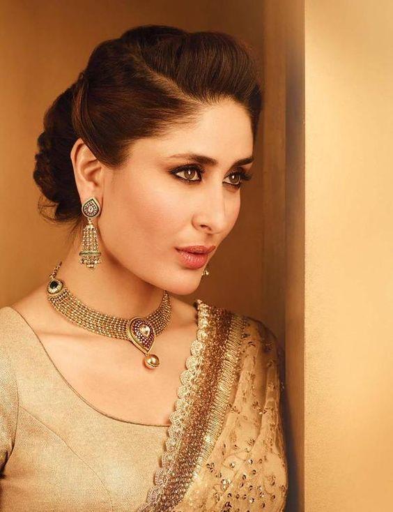 Diamonds, Gold and Kareena kapoor on Pinterest