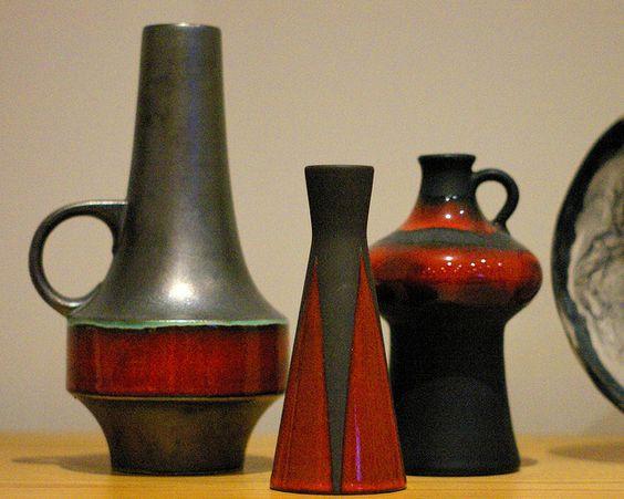 black vases | Flickr - Photo Sharing!