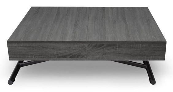 Table Basse Relevable Et Extensible Bois Vintage Sunda Lestendances Fr En 2020 Table Basse Relevable Table Basse Table Basse Design
