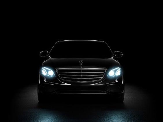 Mercedes-Benz E Class - 2016 - front light / signature lumineuse avant