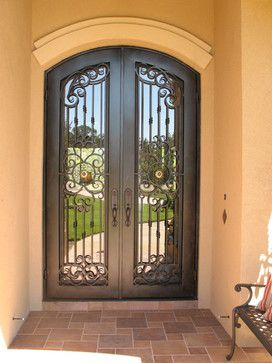 Mediterranean home front door design new house for Mediterranean style entry doors