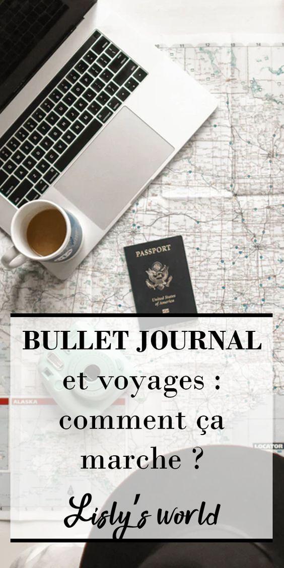 Bullet Journal & voyages : comment ça marche ?