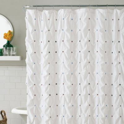 Buy Victoria Classics Reva 54-Inch x 78-Inch Stall Shower Curtain ...