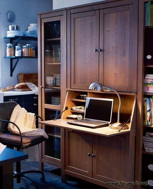 ديكور مكاتب صغيرة تصميم مكاتب في المنزل ديكور الوليد Small Home Offices Home Office Cabinets Small Home Office