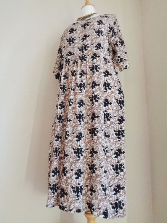 THE MASAI CLOTHING COMPANY BLACK BEIGE IVORY FLORAL DRESS SZ L https://t.co/kE2JU22vPL https://t.co/vmyy5gvP3a