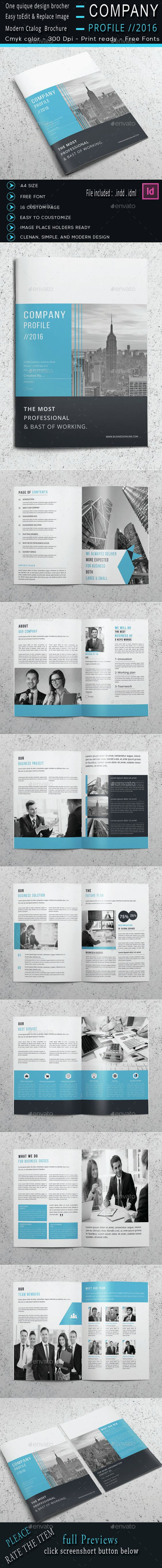 The Company Profile  Templates Company Profile And The OJays