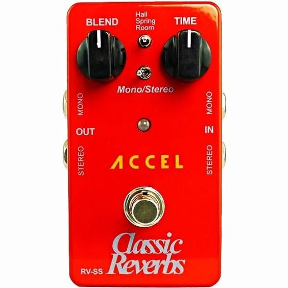 Accel RV-SS, Classic Reverbs - Affordable Tone!