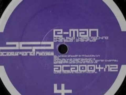 E-Man - Bass Machine - YouTube
