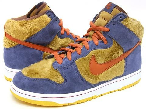 Nike Dunk High Pro SB - Papa Bear - (3) Three Bears - light umber ...