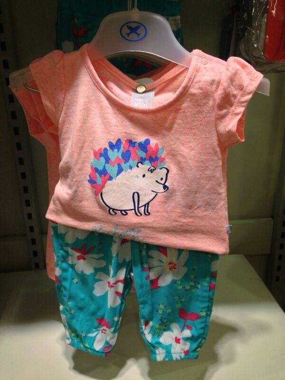 Camiseta + calça florida
