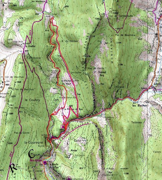 DrômEscape - Randos - Photos - Drôme: Le Canyon des Gueulards et les Gorges d'Omblèze