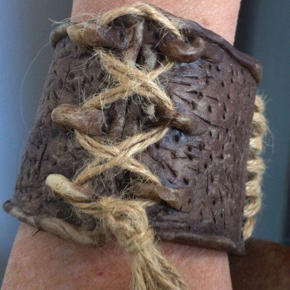 Bracelet from fimo