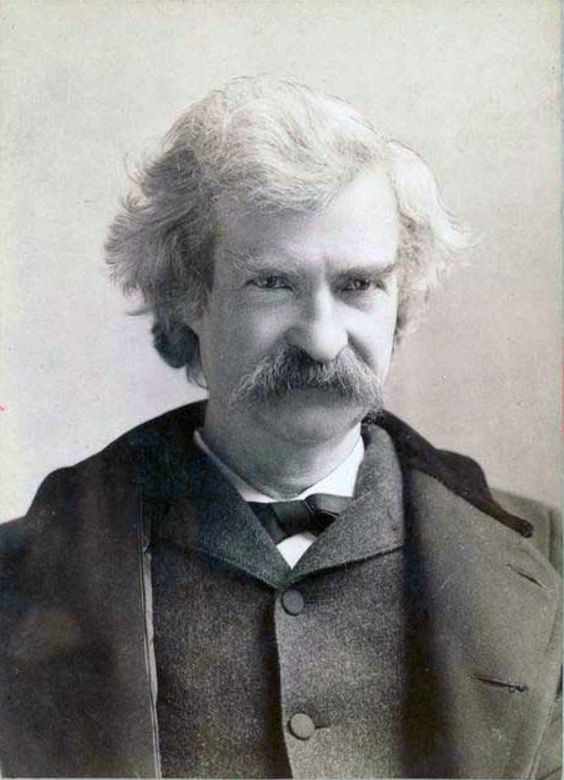 Mark Twain (1895), por Napoleon Sarony
