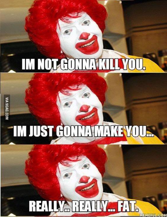 Ronald McDonald in Suicide Squad