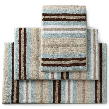 royal velvet 174 memory foam stripe bath rugs jcpenney for the home pinterest royals rugs