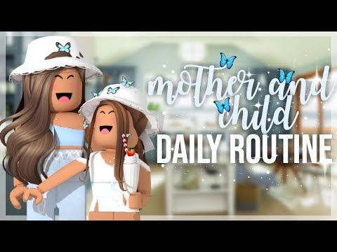 Mother And Daughter S Relaxed Daily Routine Roblox Bloxburg Roleplay Youtube Roblox Daily Routine Routine