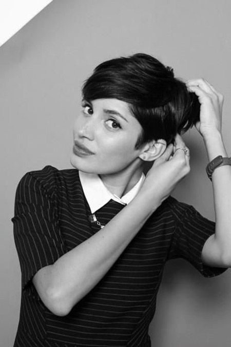 Admirable Pixie Cuts Black Hair And Pixie Hairstyles On Pinterest Short Hairstyles For Black Women Fulllsitofus