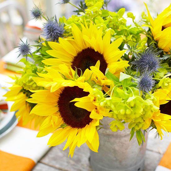 Bright Bouquet Centerpiece