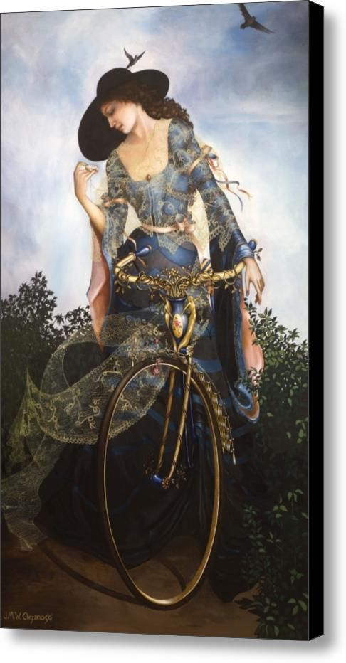 Unstuck In Time Canvas Print / Canvas Art By Jane Whiting Chrzanoska