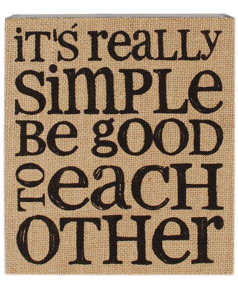 It's Really Simple Box Sign Wall Art