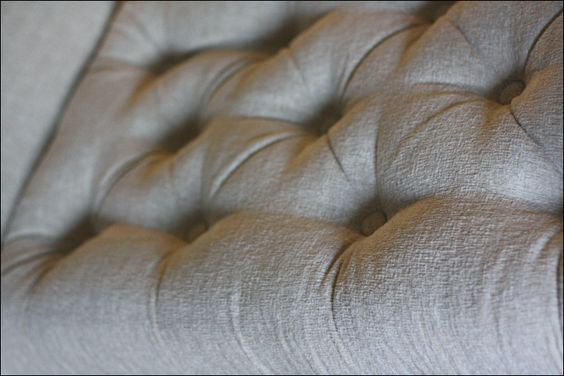 How to make a tufted seat cushion