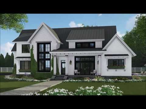 Plan 14669rk Modern Farmhouse With Kitchen To Covered Porch Pass Through In 2021 Modern Farmhouse Plans House Plans Farmhouse Farmhouse Plans