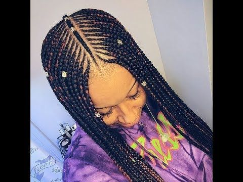 Latest Weave Styles 2018 Fashionable Hairstyles That Are Worth Trying Cornrow Hairstyles Braids With Weave Black Girl Braids